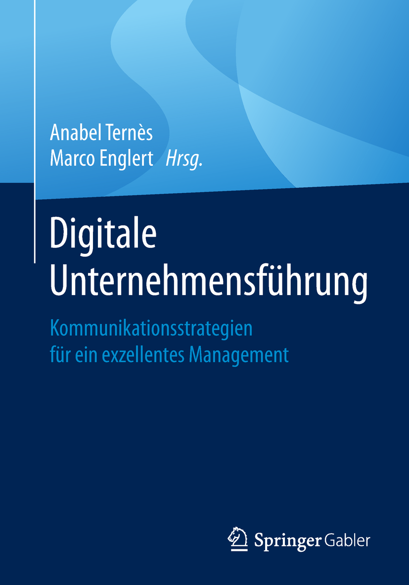 Digital Management Buch Vorderseite